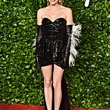 Emma Roberts at the British Fashion Awards 2019