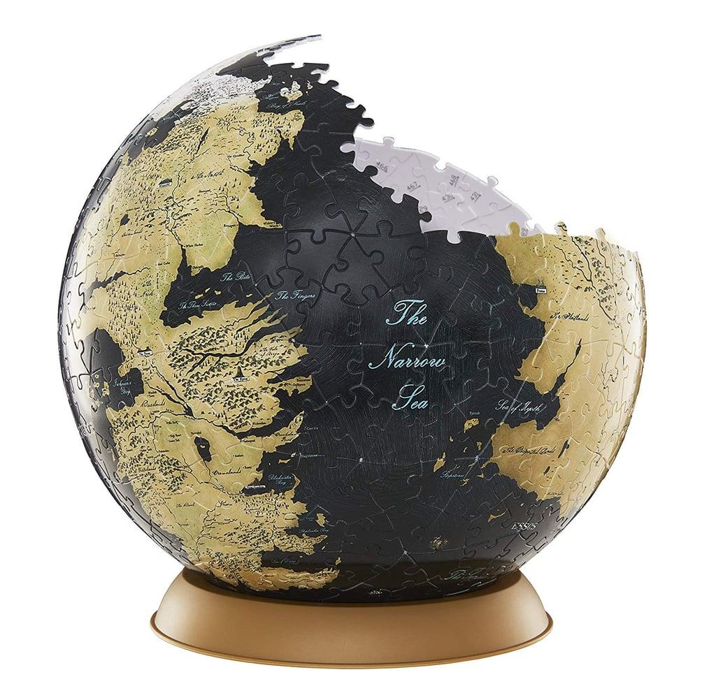4D Cityscape Westeros and Essos Globe Puzzle