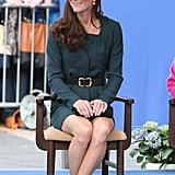Kate Middleton Pictures With Queen Elizabeth II and Prince Philip at London's St. Pancras Station
