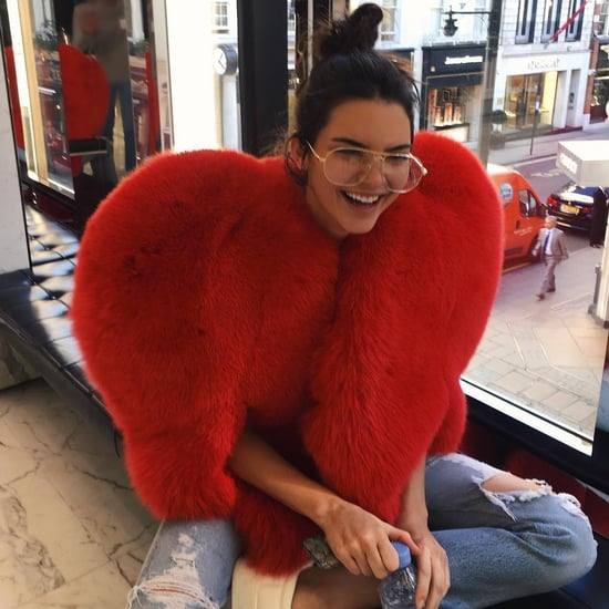 Saint Laurent Red Heart Coat Trend