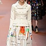 """Taylor Even Appeared in Dolce & Gabbana's """"Viva la Mamma!"""" Show"""