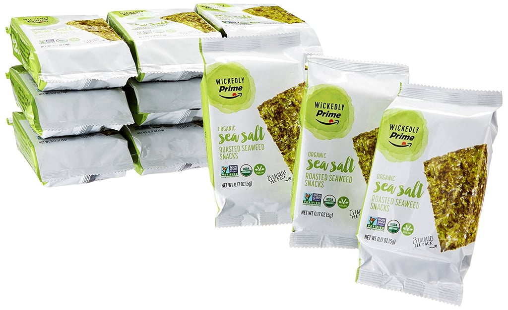 Wickedly Prime Organic Roasted Seaweed Snacks, Sea Salt