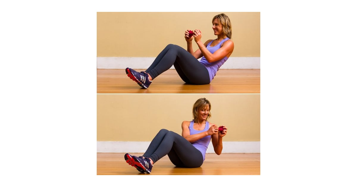 Obliques: Seated Russian Twist | Best Ab Exercises For ...