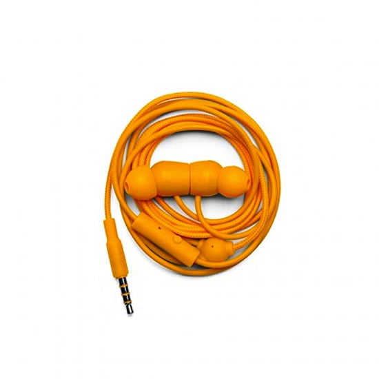 Powerful orange earbuds ($35) that resemble pumpkins? We'll take two, please.