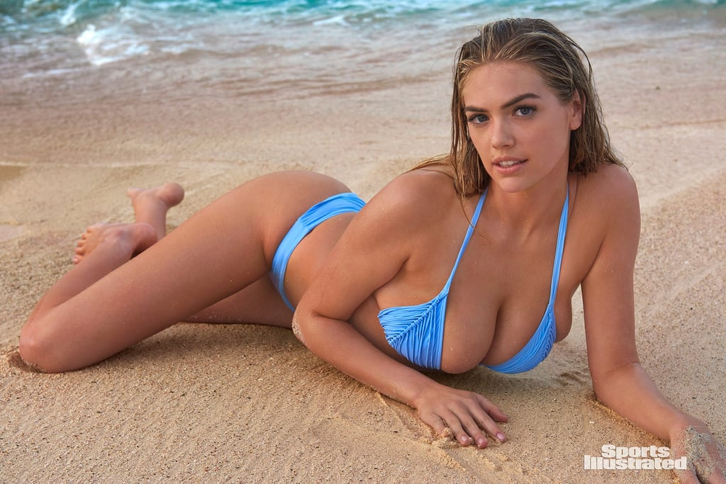 Kate Upton Looks So Sexy in Her Blue Bikini, We're Having a Hard Time Concentrating on Anything Else
