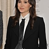 Ellen Page was at a To Rome With Love press event in NYC.