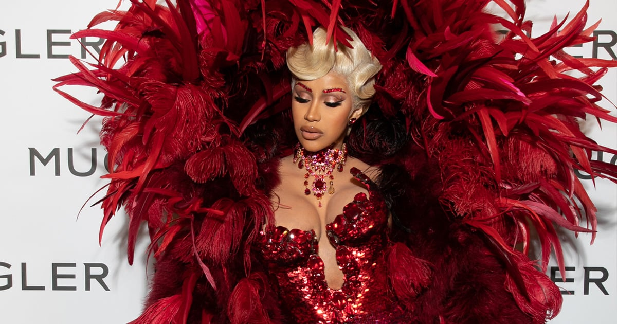 Va-Va-Voom! Cardi B Looks Luxe in Her First Public Appearance Since Giving Birth.jpg