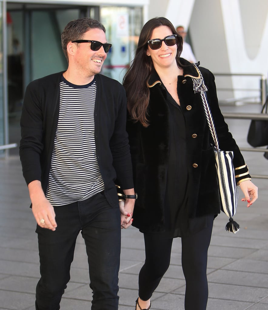 c550669b6d0 Liv Tyler and fiancé David Gardner touched down in Marrakech on Friday.