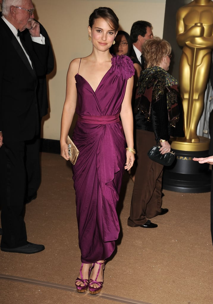 Natalie Portman in Lanvin at the 2011 AMPAS Governors Awards