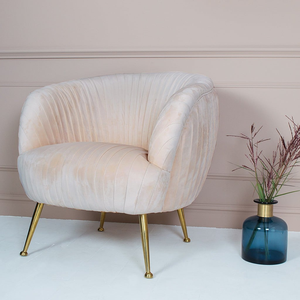 Audenza Marilyn Velvet Armchair