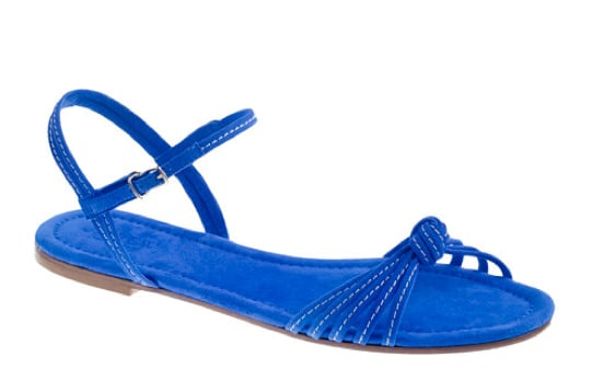 Sleek, simple, and in the most gorgeous shade of cobalt blue — what's not to love about this Summer flat? J.Crew Ready-or-Not Suede Sandals ($110)