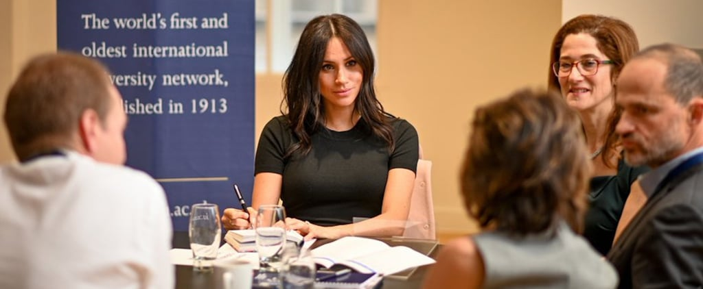Meghan Markle Visits King's College in London December 2018