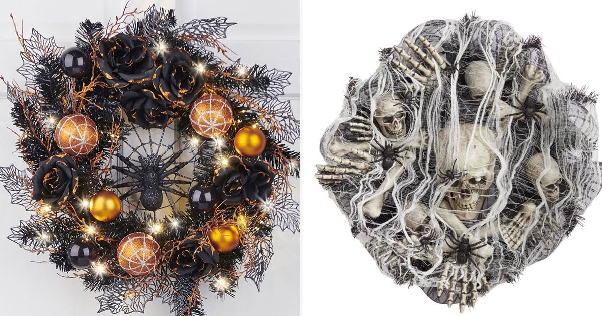 Knock Knock! 43 Halloween Wreaths That'll Bring Horror and Delight to Your Front Door