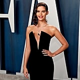 Sara Sampaio at the Vanity Fair Oscars Afterparty 2020