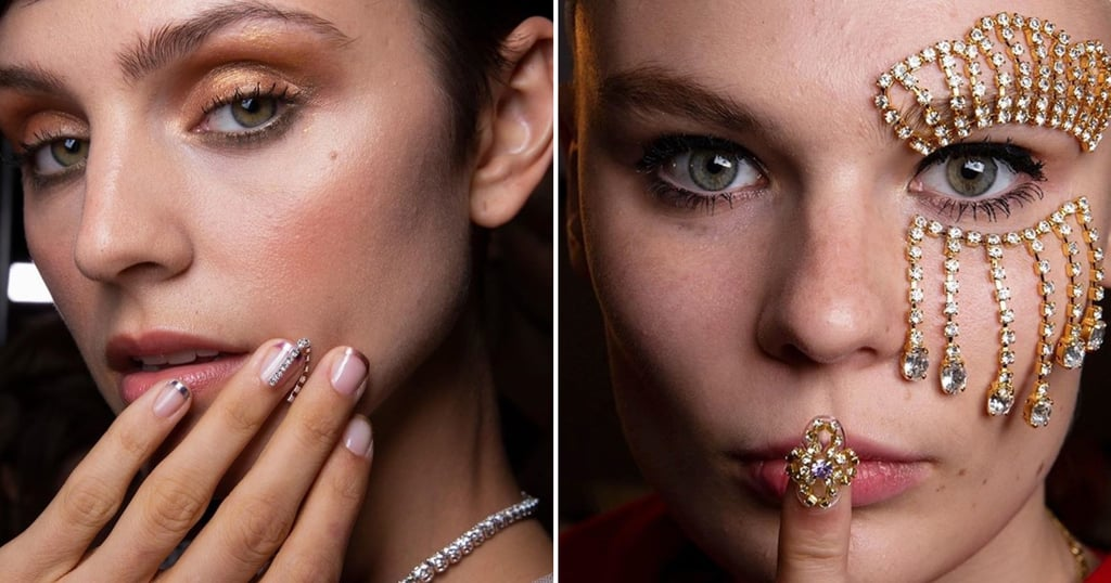 These Are the Most Extravagant and Beautiful Nail Art Trends at Spring 2020 Fashion Week So Far