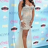 JWoww attended the 2013 Teen Choice Awards.