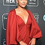 Amandla Stenberg at Critics' Choice Awards