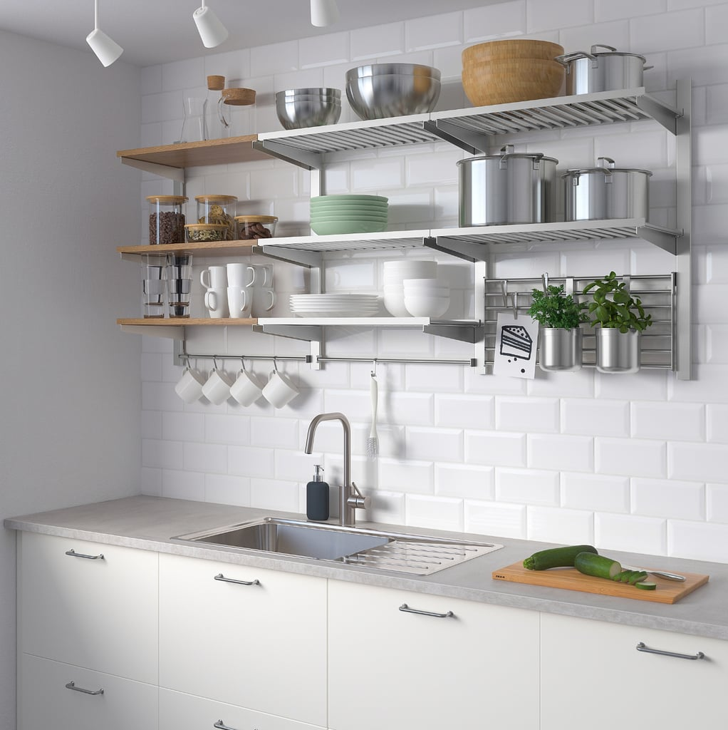 Kungsfors Storage Unit With Wall Grid | Best Ikea Kitchen ...