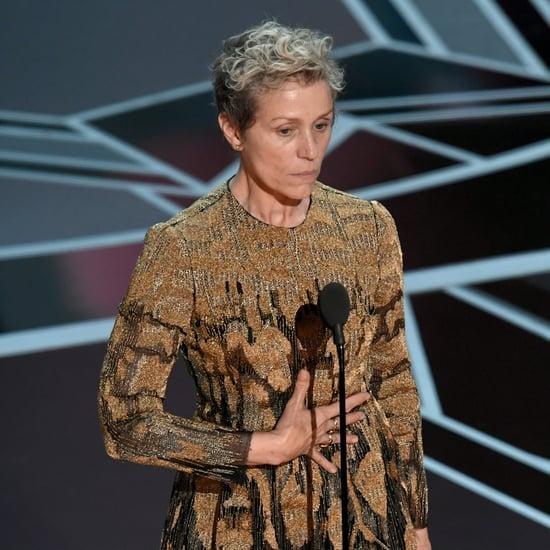 Frances McDormand's Acceptance Speech at the 2018 Oscars