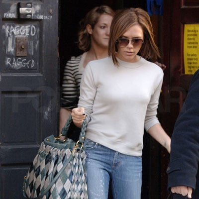 Victoria Beckham Shopping in London