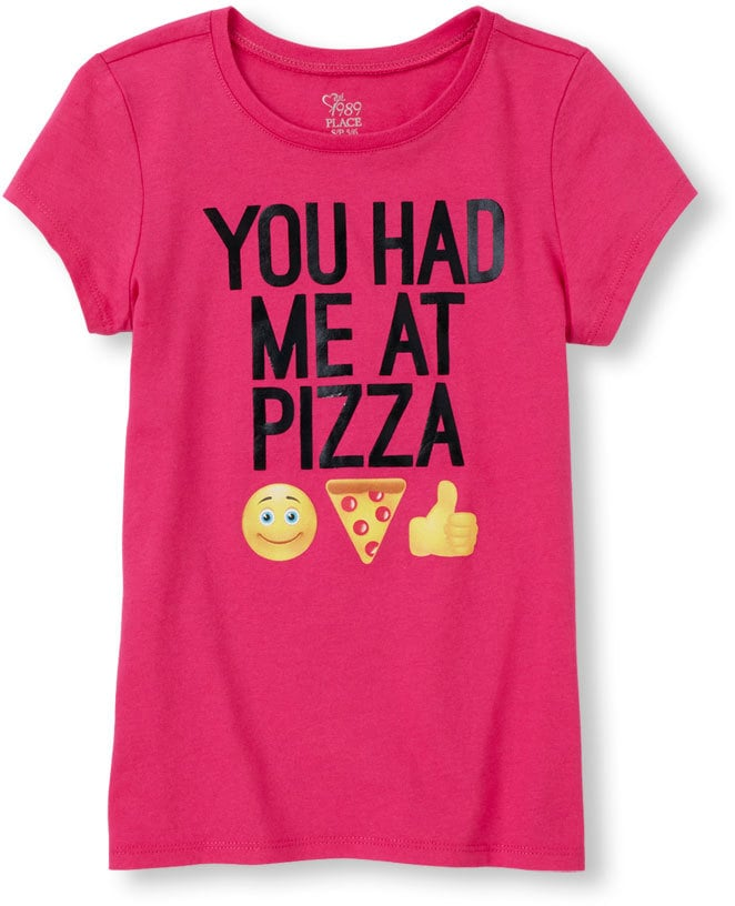 'You Had Me At Pizza' Emoji Graphic Tee