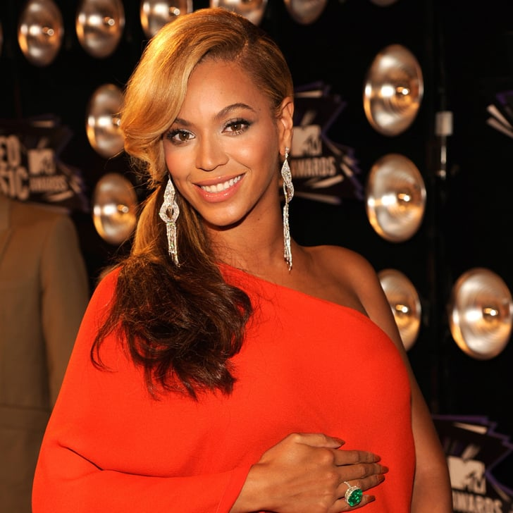 Pictures of Pregnant Celebrities 2011