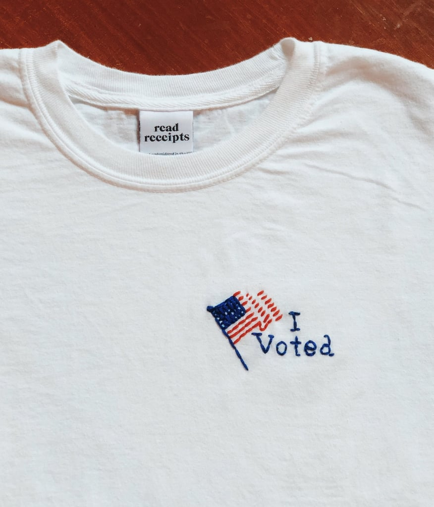 """Read Receipts """"I Voted"""" T-Shirt"""