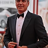 George Clooney at the Venice Film Festival.
