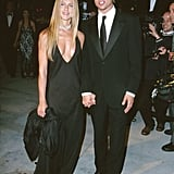 She Wore a Similar Style to the 2000 Vanity Fair Oscar Party