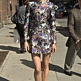 Shailene Woodley at Late Show With David Letterman