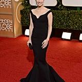 Emma Roberts at the Golden Globes 2014