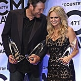 2013 — Blake Shelton and Miranda Lambert
