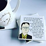 Dwight Schrute Cartoon Coasters