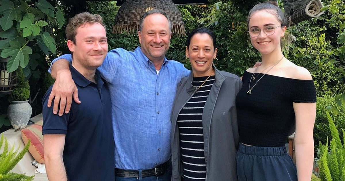 """Kamala Harris's Stepkids Are Glad Their Blended Family Is Setting an Example: """"This Isn't Weird"""""""