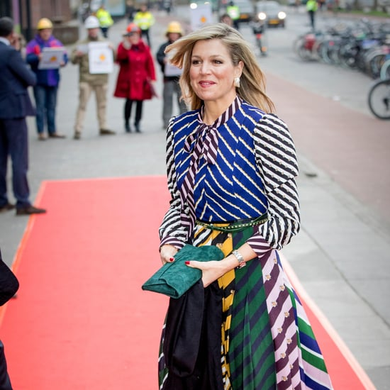Queen Maxima Mary Katrantzou Dress 2018
