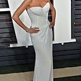 . . . and Then Changed Into an Even Hotter Dress For the Vanity Fair Afterparty
