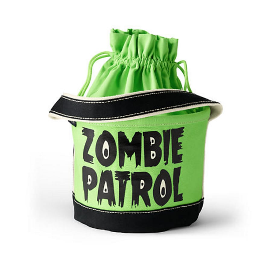 Zombie Patrol Drawstring Tote