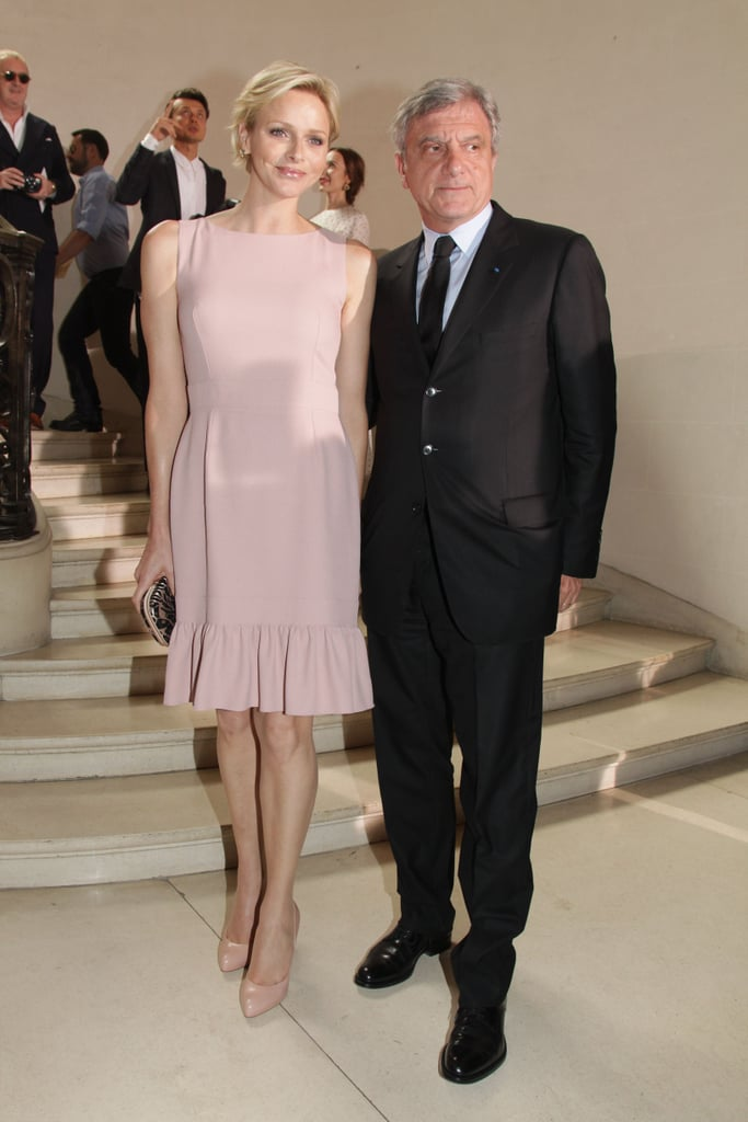 Princess Charlene and Sidney Toledano