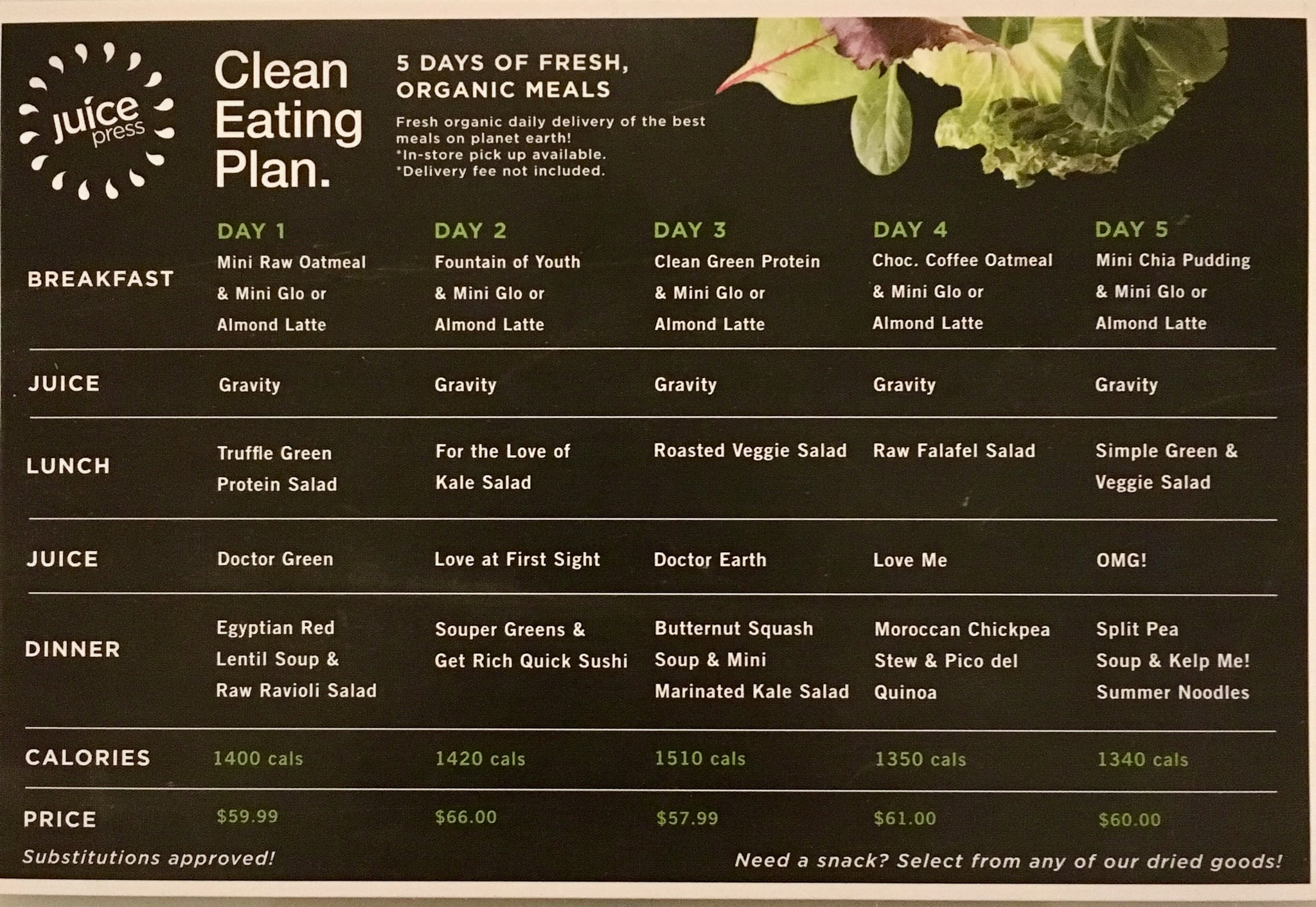 Juice Press Clean Eating Plan Review