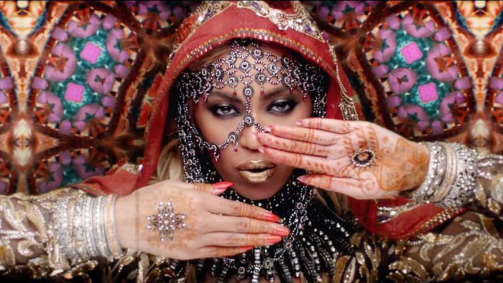 Beyoncé's Henna
