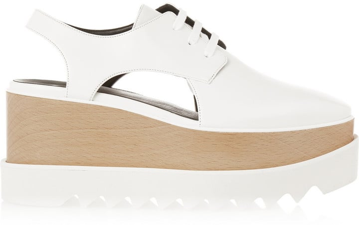 Stella McCartney Cutout Faux Leather Platform Brogues ($995)