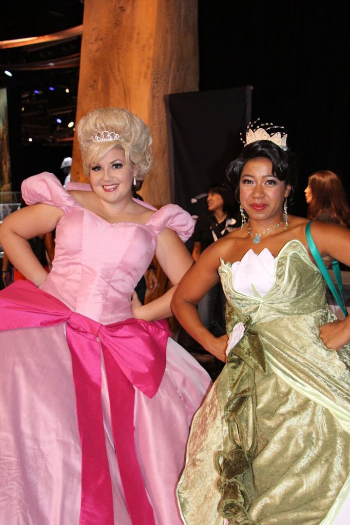 Princess Charlotte and Princess Tiana