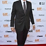 Will Ferrell protected his eyes from the flashing bulbs at the Welcome to Me premiere.