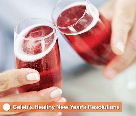 Celebs' Healthy New Year's Resolutions