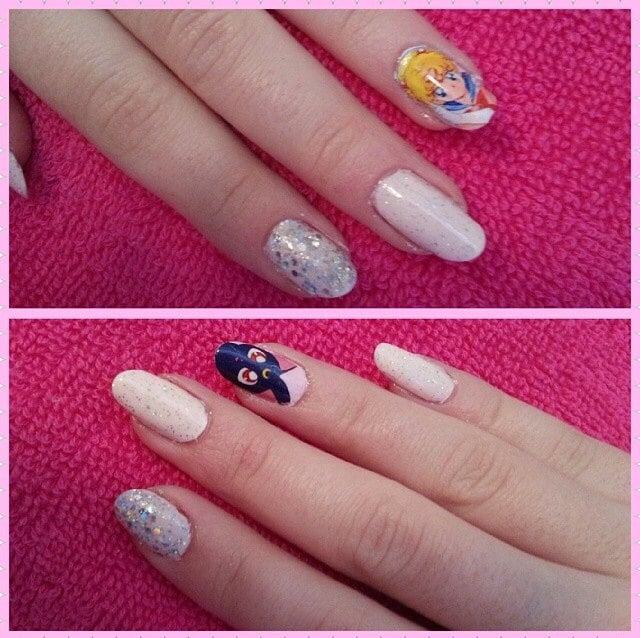 Go all out with a Sailor Moon character on every nail with these ...