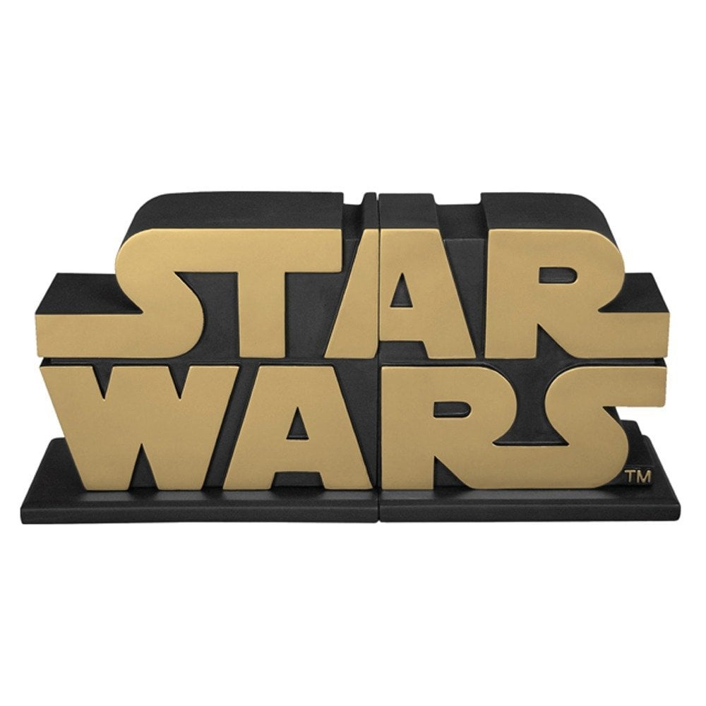 For the fan who has every book investigating the set design, special effects, and nuances of the Wookiee language, may we present Star Wars bookends ($115), one of only 1,000 made.
