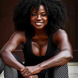Viola Davis Gave a Glimpse Into Her Training Routine, and Damn, She's Doing the Work