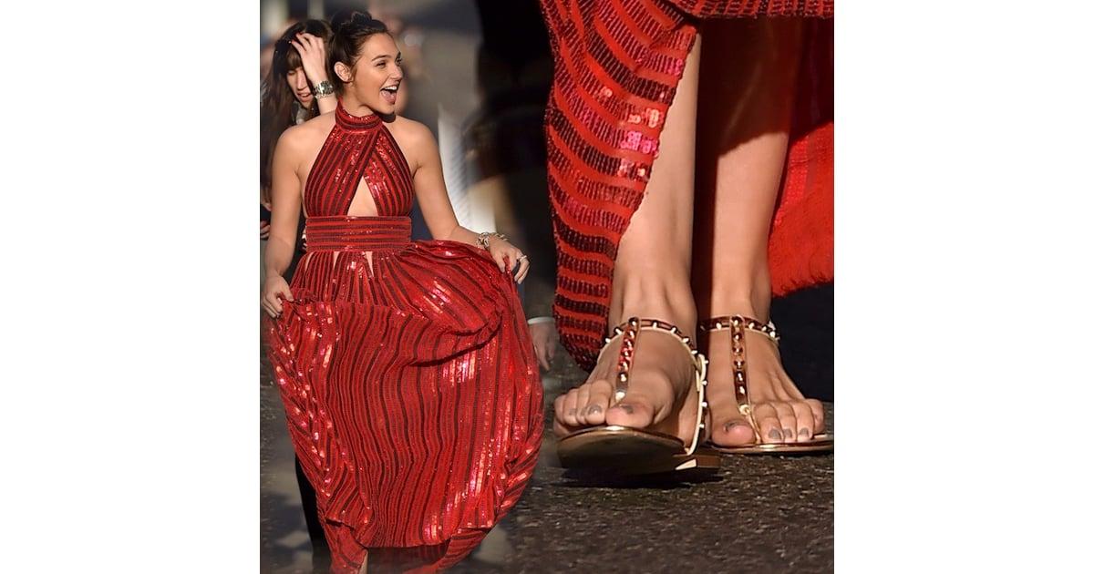Gal Gadot S Love Of Flat Shoes Popsugar Fashion