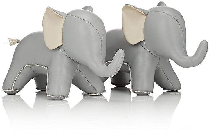 Zuny Abby The Elephant Bookends | 50 Adorable Decor Items