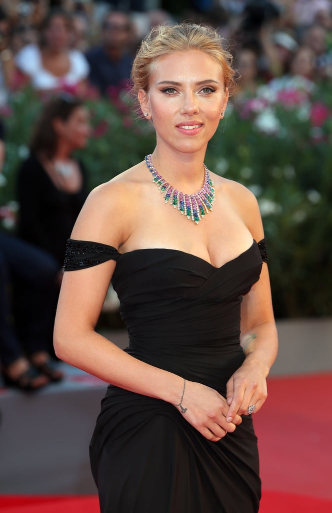 Scarlett Brings Her Beauty to Venice and Opens Up About a Possible Switch to Politics